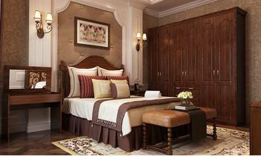 美式卧房家具