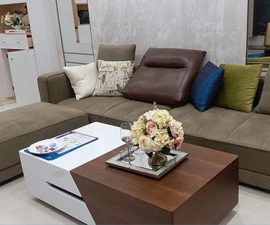 客厅沙发实拍图