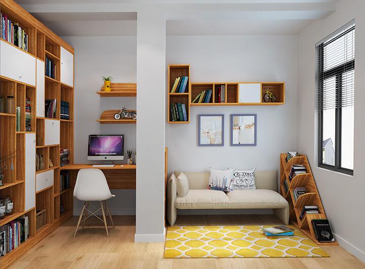 書房裝修效果圖
