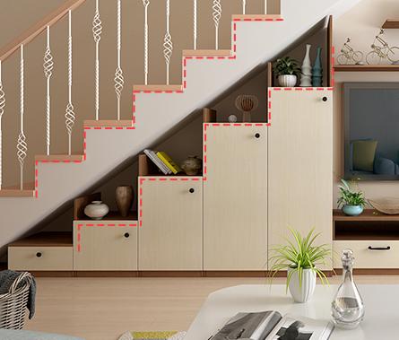 樓梯間儲物柜