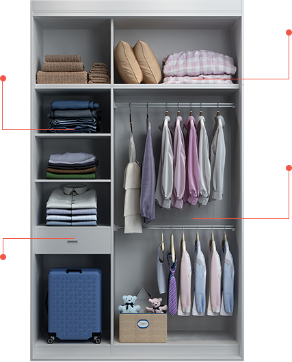 衣柜內部設計圖